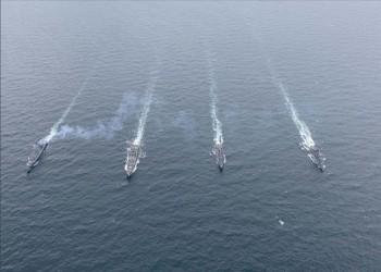 مناورة بحرية عسكرية مشتركة بين تركيا والناتو