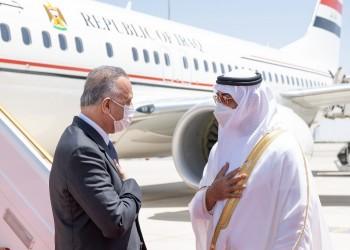 الكاظمي يصل إلى الإمارات.. وخط طيران مباشر بين بغداد وأبوظبي الشهر المقبل