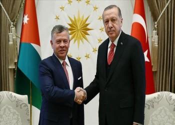 إثر التوترات والاعتقالات.. أردوغان يجري اتصالا بالملك عبدالله الثاني