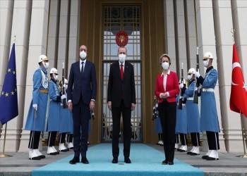 عقب لقاء أردوغان.. الاتحاد الأوروبي يرغب في تعزيز علاقته بتركيا ويشيد بحوار أنقرة وأثينا