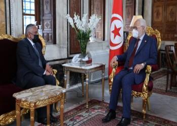 الغنوشي يستقبل سفير سلطنة عمان في تونس