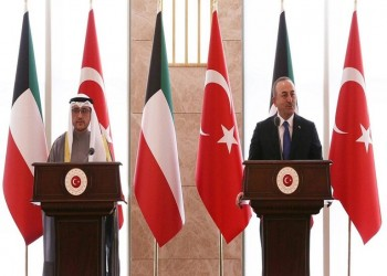 الكويت: متوافقون مع تركيا في القضايا الإقليمية والعالمية