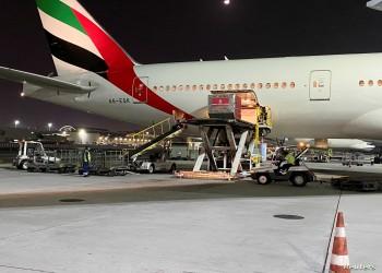 الإمارات ترسل طائرة مساعدات للنظام السوري.. ماذا بداخلها؟
