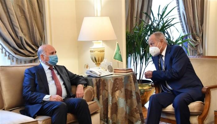 وزير خارجية العراق: بحثت مع أبوالغيط علاقة بغداد مع طهران وأنقرة