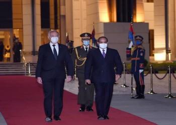 السيسي مودعا قيس سعيد: زيارته عمقت العلاقات المصرية التونسية