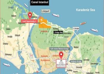 العوائد الاقتصادية لقناة إسطنبول