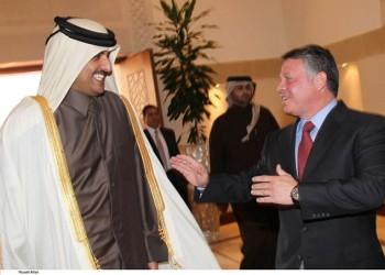 ملك الأردن يتلقى اتصالا هاتفيا من أمير قطر