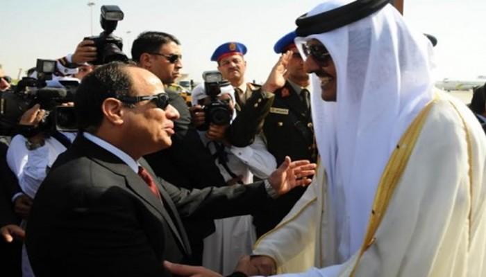 للمرة الأولى منذ المصالحة الخليجية.. أمير قطر يهاتف السيسي
