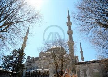 المحيا.. تقليد عثماني يزين مساجد إسطنبول في رمضان (صور)