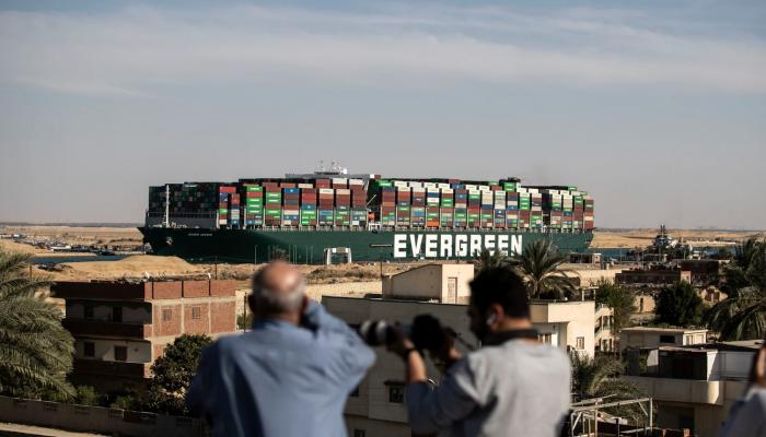 ماذا قالت الشركة المؤمّنة على إيفر جيفين عن قرار مصر بحجزها؟