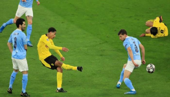 مانشستر سيتي آخر المتأهلين لنصف نهائي أبطال أوروبا بفوز على دورتموند