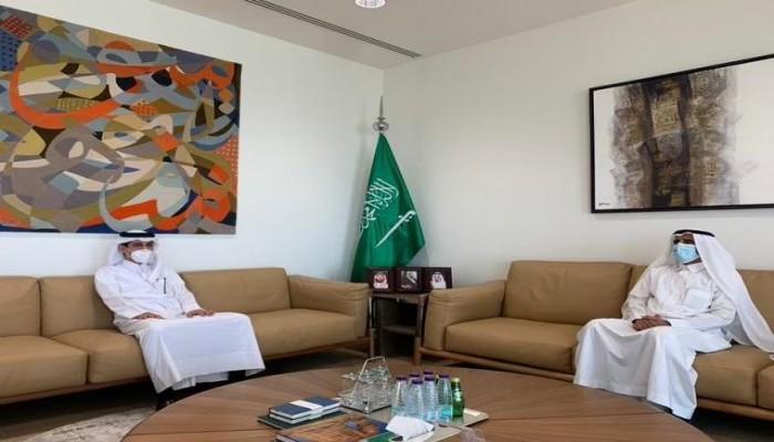 الثاني خلال أيام.. لقاء دبلوماسي قطري سعودي في الرياض