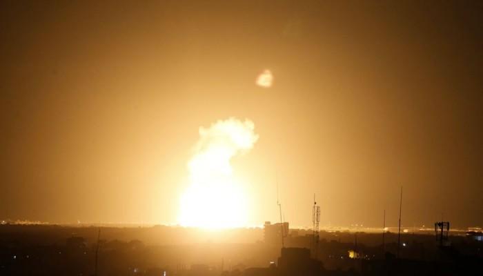 طيران الاحتلال الإسرائيلي يقصف عدة مواقع بقطاع غزة