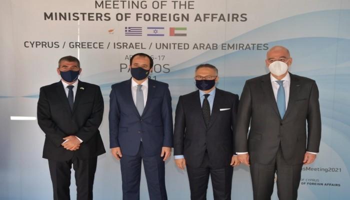 ماذا تريد الإمارات من أول اجتماع رباعي مع إسرائيل وقبرص واليونان؟