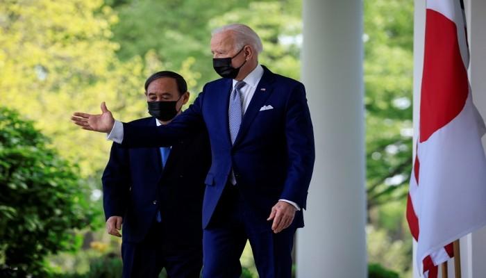بايدن: اتفقت مع اليابان على التصدي للصين وكوريا الشمالية