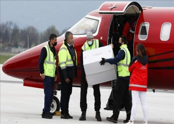 تركيا ترسل شحنة ثانية من لقاحات كورونا إلى البوسنة