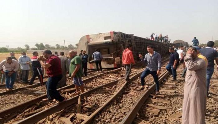 السعودية تعرب عن بالغ الأسى لحادث قطار طوخ بمصر
