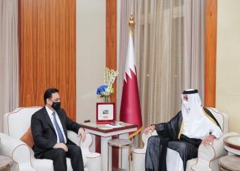 خلال استقباله دياب.. أمير قطر يدعو للإسراع بتشكيل حكومة لبنانية