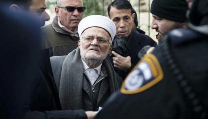 الاحتلال الإسرائيلي يمنع خطيب المسجد الأقصى من السفر 4 شهور