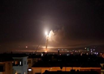 قصف إسرائيلي على دمشق.. وإصابة 4 جنود سوريين