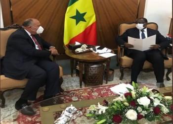 رسالة من السيسي لنظيره السنغالي حول تطورات أزمة سد النهضة