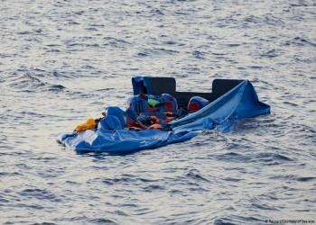 مصرع 100 مهاجر جراء غرق قاربهم في البحر المتوسط