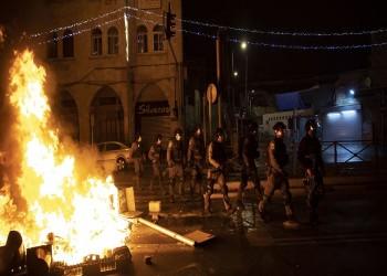 تجدد المواجهات الليلية العنيفة بين فلسطينيين والاحتلال بالقدس (فيديو)