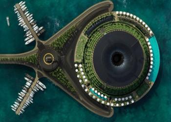 بحلول عام 2025.. قطر تطلق فندقا عائما يدور حول نفسه ويولد الكهرباء ذاتيا