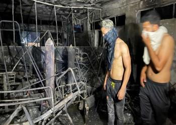 ارتفاع ضحايا حريق مستشفى بغداد إلى 82 وفاة و110 إصابات