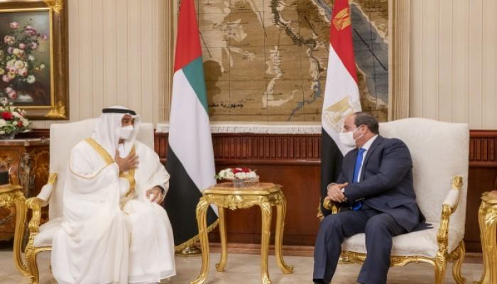 السيسي وبن زايد.. 3 ملفات على الطاولة المصرية الإماراتية