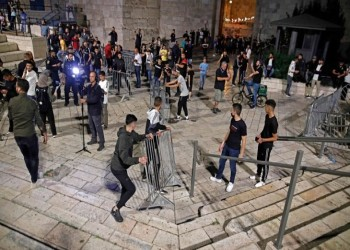 بعد مواجهات دامت 3 أيام.. الشرطة الإسرائيلية تنسحب من باب العامود