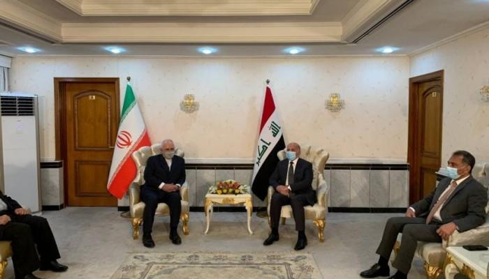 وزير خارجية العراق: بحثنا مع ظريف العلاقات الخليجية الإيرانية