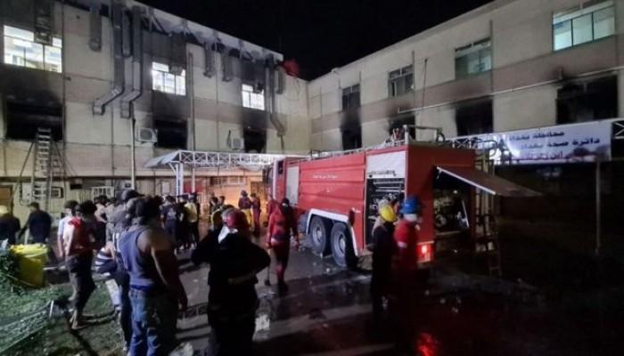 حريق مستشفى بغداد: إرث الاحتلال وسلطات الفساد والمذهبية