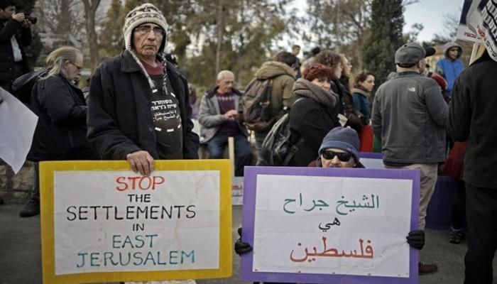 يوم مصيري.. 500 فلسطيني يواجهون التهجير القسري بالشيخ جراح