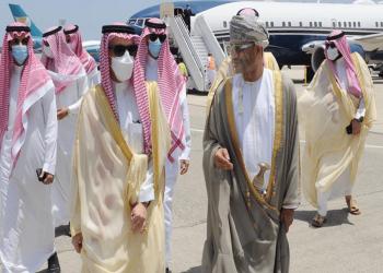 زيارة رسمية.. وزير الخارجية السعودي يصل إلى مسقط