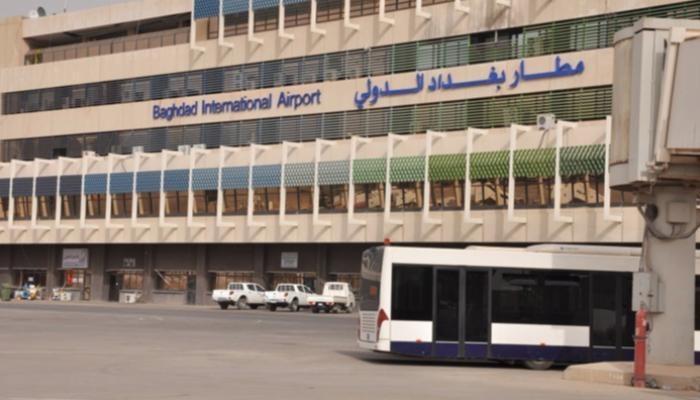 سقوط 3 صواريخ بمحيط مطار بغداد