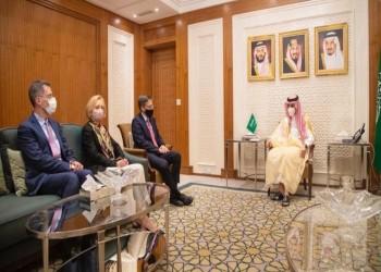 مباحثات سعودية أمريكية حول القضايا المشتركة والعلاقات الثنائية