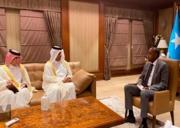 مبعوث قطري يجري مباحثات مع رئيس وزراء الصومال في مقديشو