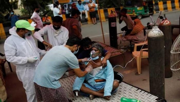 أكثر من 20 مليون إصابة بفيروس كورونا في الهند