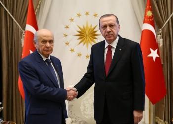 بهتشلي حليف أردوغان يعلن عن مقترح لدستور جديد مكون من 100 مادة
