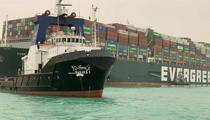 محكمة مصرية ترفض طعنا على احتجاز سفينة إيفر جيفن