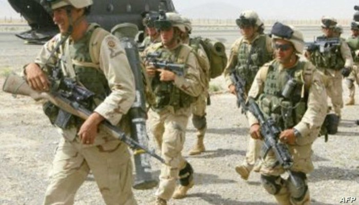 القيادة الأمريكية تعلن تسليم قاعدة نيو أنتونيك للجيش الأفغاني