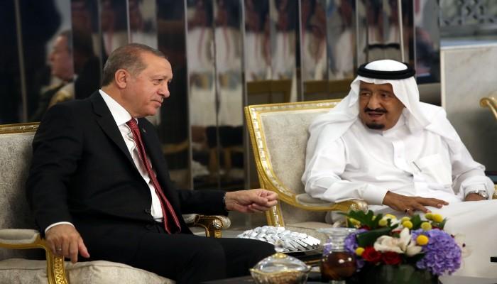 الثاني خلال شهر.. أردوغان يهاتف الملك سلمان لبحث القضايا الثنائية