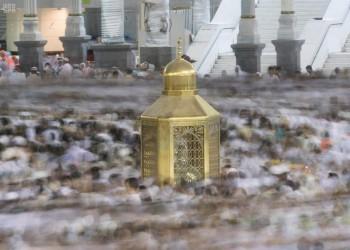 صور نادرة لمقام إبراهيم عند الكعبة (شاهد)