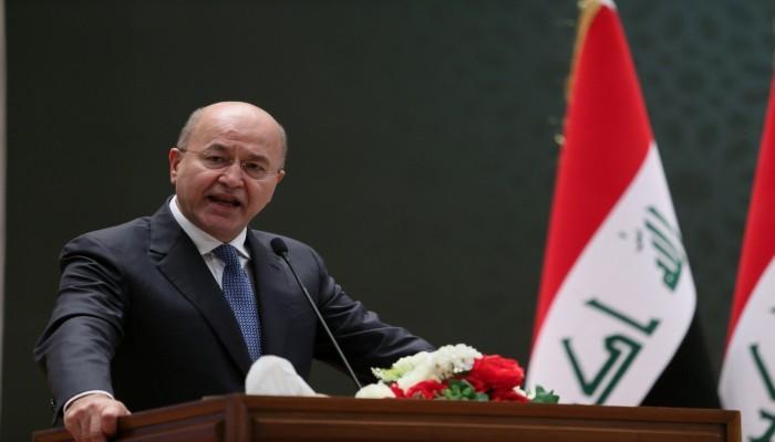 الرئيس العراقي: استضفنا أكثر من جولة حوار بين السعودية وإيران