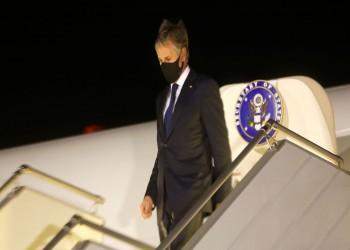 وزير الخارجية الأمريكي يصل إلى أوكرانيا لدعمها ضد روسيا