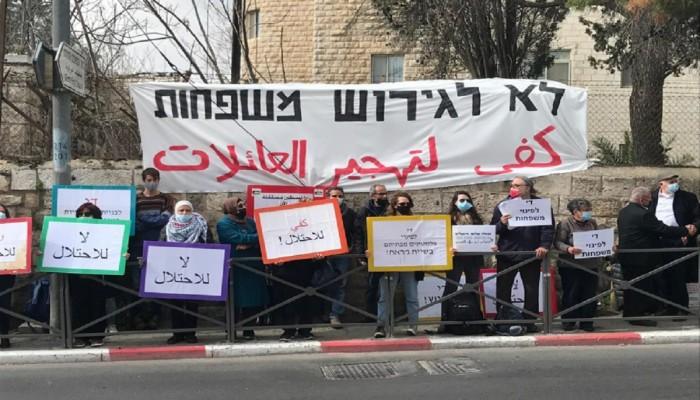 أهالي الشيخ جراح يبلغون المحكمة الإسرائيلية رفضهم إخلاء منازلهم