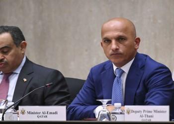 وزير الخارجية القطري يعلق على قضية وزير المالية: لا أحد لدينا فوق القانون