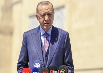 أردوغان: نتطلع لاستعادة الوحدة مع الشعب المصري ونرفض الإملاءات