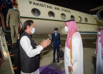 زيارة ترطيب الأجواء.. بن سلمان يستقبل رئيس وزراء باكستان